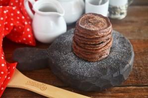 Шоколадные оладушки за 5 минут - фото шаг 4