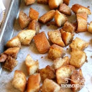 Яичница с тостами и салатом - фото шаг 2