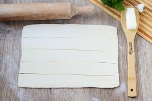 Сырные крендельки - фото шаг 2