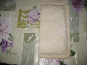 Пирог с брюшками лосося - фото шаг 5