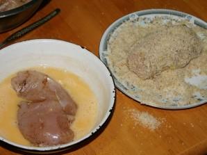 Куриные грудки в арахисе - фото шаг 2