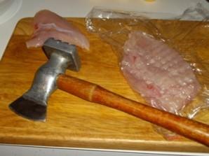 Куриный шницель с сыром - фото шаг 1