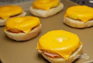 Запеченные бутерброды - фото шаг 6