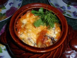 Баранина в горшочках с картофелем - фото шаг 5