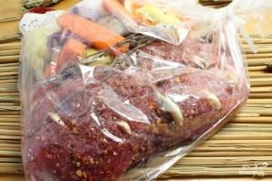 Свинина со свежими овощами - фото шаг 5