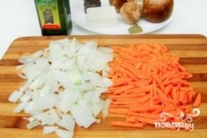 Суп грибной с плавленым сыром - фото шаг 3