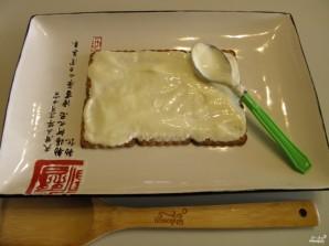 Торт из печенья без выпечки со сметаной - фото шаг 3