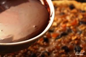 Шоколадный торт с ириской - фото шаг 10