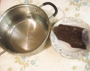 Салат с печенью говяжьей - фото шаг 1