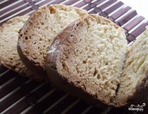 Хлеб в хлебопечке без дрожжей - фото шаг 7