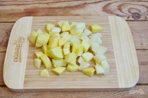 Охотничьи колбаски с картофелем в горшочках - фото шаг 3