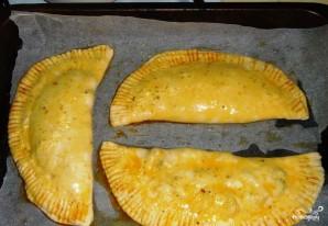 Печеные чебуреки в духовке - фото шаг 3
