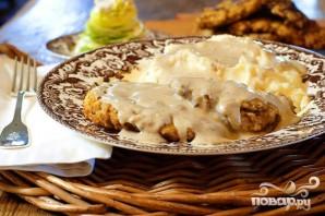 Куриный стейк с соусом - фото шаг 6