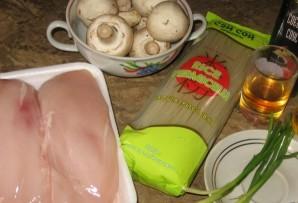 Китайский суп с курицей - фото шаг 1