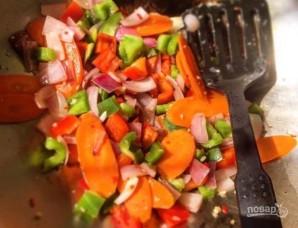 Свиной гуляш в кисло-сладком соусе - фото шаг 7