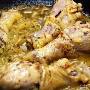 Курица с шафраном - фото шаг 6
