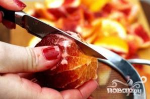 Пирог с красными апельсинами - фото шаг 1
