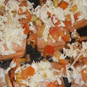 Рыба, запеченная с помидорами и сыром - фото шаг 10