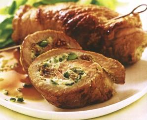 Рулет из свинины в фольге - фото шаг 8