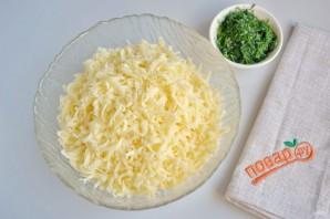 Вкусные кутабы с сыром и зеленью - фото шаг 5