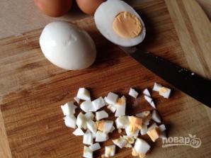 Крабовый салат обычный - фото шаг 8