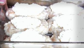 Мясные ватрушки с творогом - фото шаг 4
