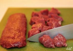 Томатный суп с мясом - фото шаг 1