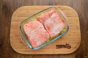 Филе лосося по-бретонски - фото шаг 3