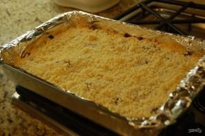 Песочный пирог с джемом - фото шаг 5