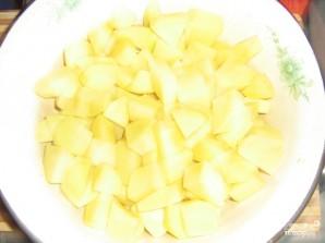 Суп с сыром и грибами - фото шаг 4