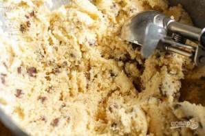 Кокосовое печенье с шоколадом - фото шаг 5