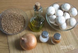 Гречка с грибами и луком - фото шаг 1