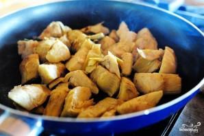 Сырный соус с артишоками и шпинатом - фото шаг 4