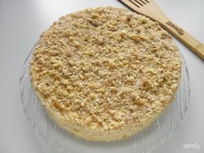 Быстрый торт на сковороде со сгущенкой - фото шаг 9