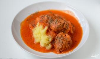 Говяжьи фрикадельки в томатном соусе - фото шаг 10