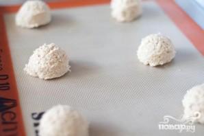 Овсяное печенье с зефирной начинкой - фото шаг 2
