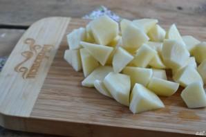 Картофель под белым соусом - фото шаг 2