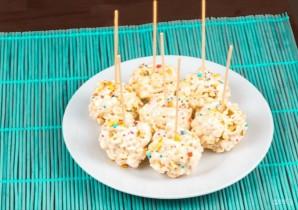 Шарики из попкорна с маршмеллоу - фото шаг 5