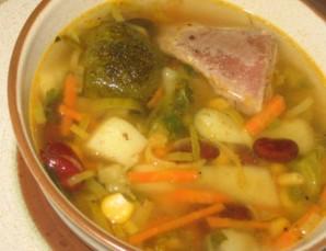 Овощной суп с индейкой - фото шаг 4