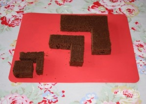"Рецепт торта ""Майнкрафт"" - фото шаг 2"
