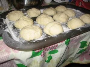 Пирожки с печенью - фото шаг 9