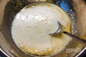 Вишнёвый пирог из творожного теста - фото шаг 4