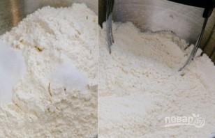 Тесто для пирога без дрожжей - фото шаг 1