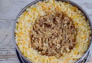 Рисовый пирог со скумбрией - фото шаг 7