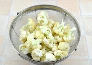 Суп из цветной капусты для ребенка - фото шаг 1