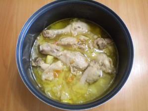 Курица с овощами и кабачками - фото шаг 5