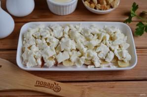 """Салат с грибами и сыром """"Искушение"""" - фото шаг 5"""