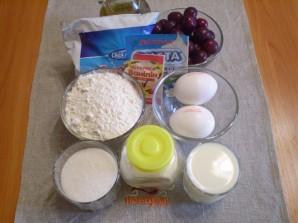Торт с ягодами - фото шаг 1