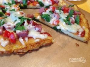 Картофельная пицца на сковороде - фото шаг 11
