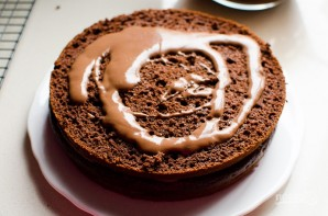 Шоколадный торт без сахара - фото шаг 9
